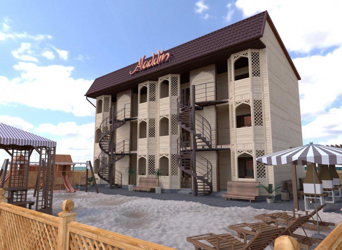 гостевой дом «Аладдин», Кирилловка. Фото 1