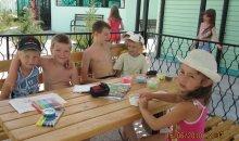 Занятия с детьми на базе отдыха в Кирилловке