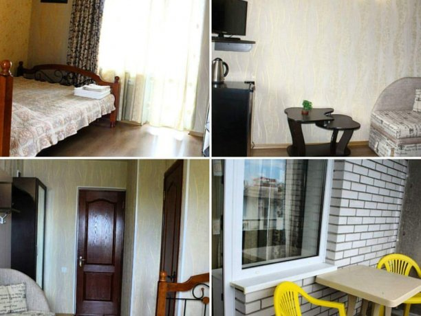 Люкс №3, гостевой дом «Гостевой Дом 170», Кирилловка. Фото 4