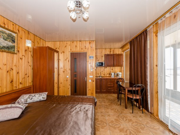 Студия №3 (4 к.), гостевой комплекс «TROPICANKA», Кирилловка. Фото 5