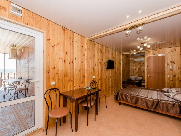 Студия №11 (4 к.), гостевой комплекс «TROPICANKA», Кирилловка. Фото 3