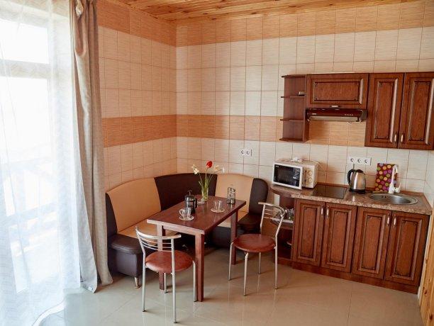 Апартаменты-студио вид на море №68 (корп. 1), база отдыха «Автомобилист», Кирилловка. Фото 8