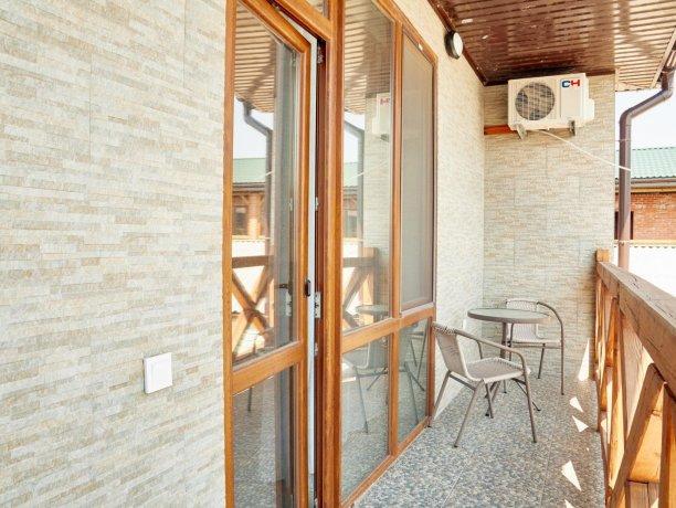 Апартаменты-студио вид на море №68 (корп. 1), база отдыха «Автомобилист», Кирилловка. Фото 10