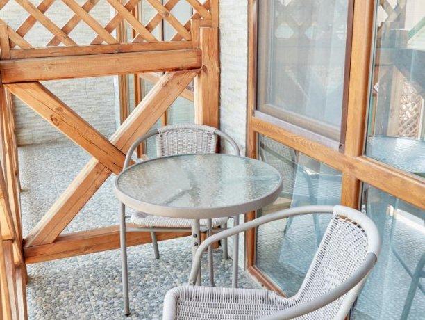 Апартаменты вид на море №60 (корп. 1), база отдыха «Автомобилист», Кирилловка. Фото 5