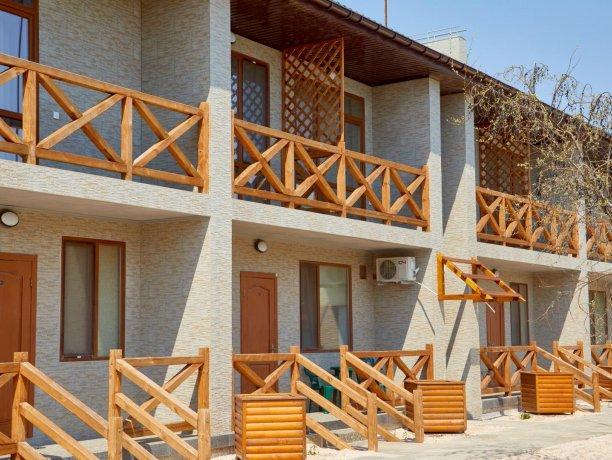 Апартаменты вид на море №62 (корп. 1), база отдыха «Автомобилист», Кирилловка. Фото 4