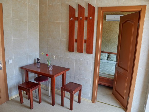 Апартаменты №36 (корп. 1), база отдыха «Автомобилист», Кирилловка. Фото 5