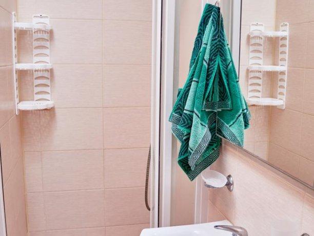 Апартаменты-студио №43 (корп. 3), база отдыха «Автомобилист», Кирилловка. Фото 12